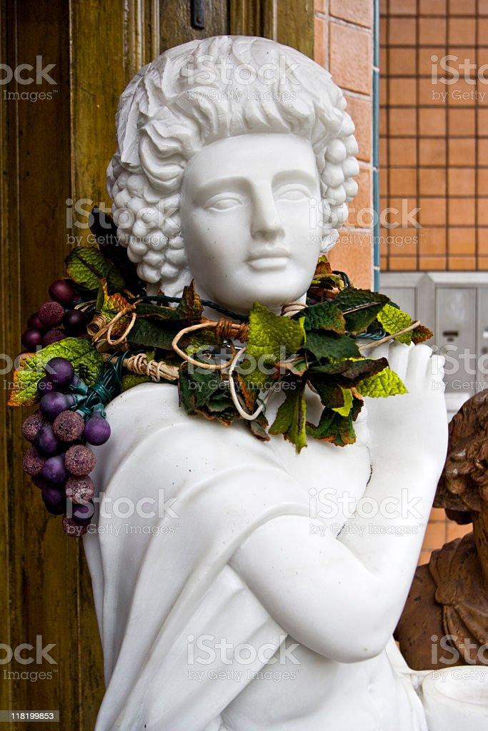 Wine God royalty-free stock photo