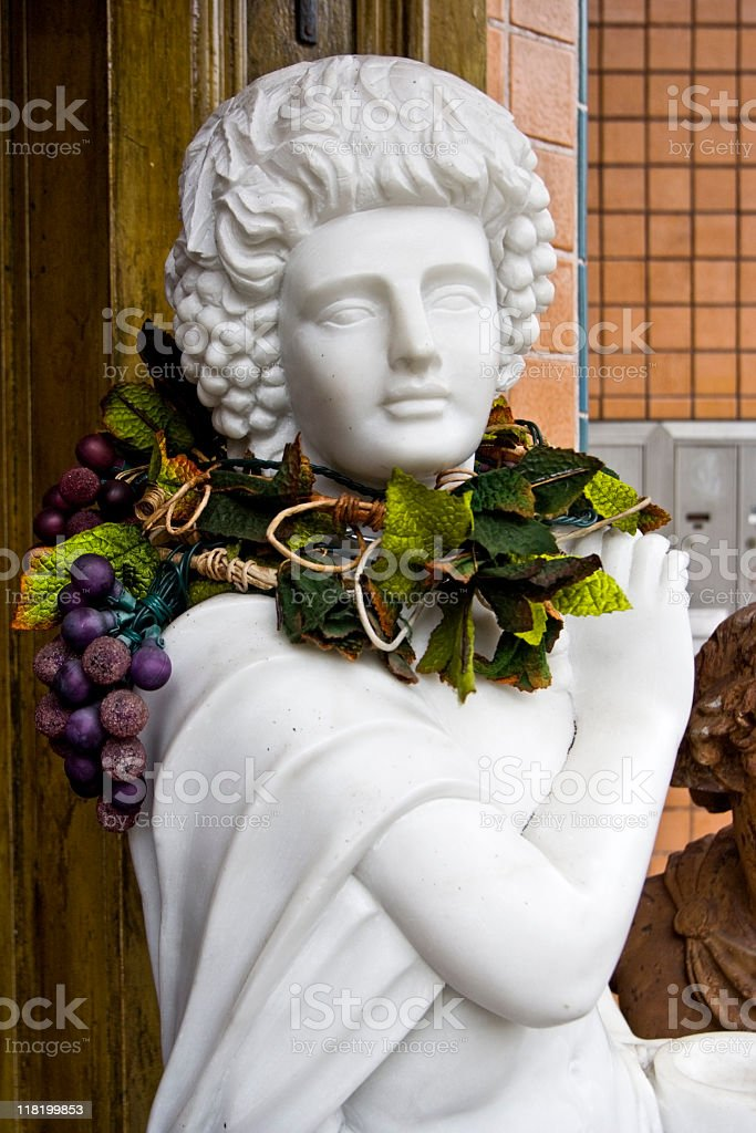 Wine God stock photo