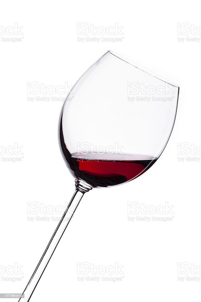Wine isolated on white background royalty-free stock photo