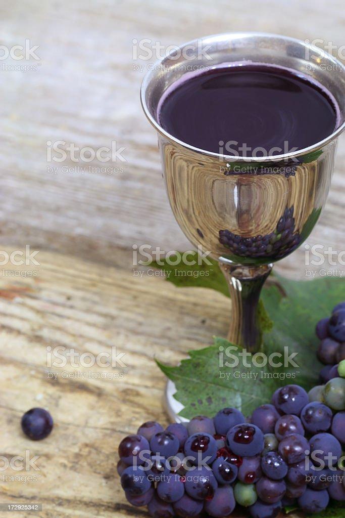 Wine - Jesus blood royalty-free stock photo
