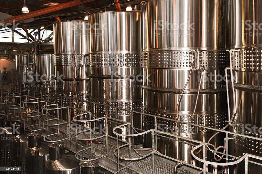 Wine making equipment royalty-free stock photo