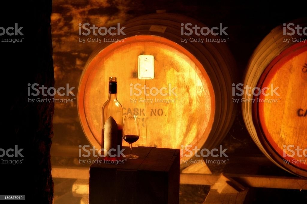 Wine Making royalty-free stock photo