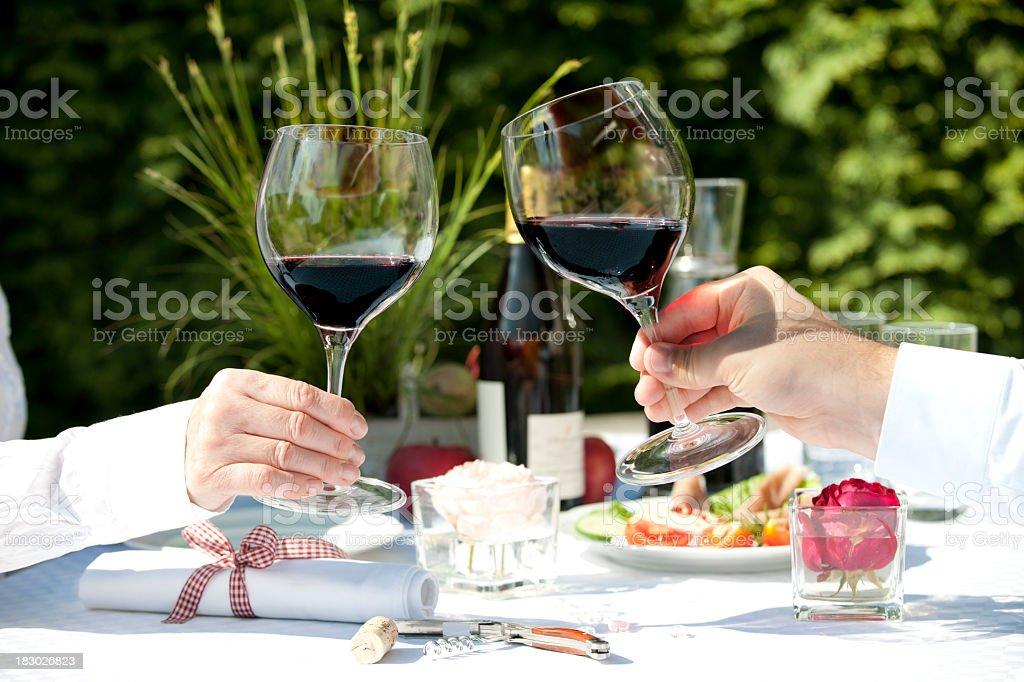 XXXL Wine royalty-free stock photo