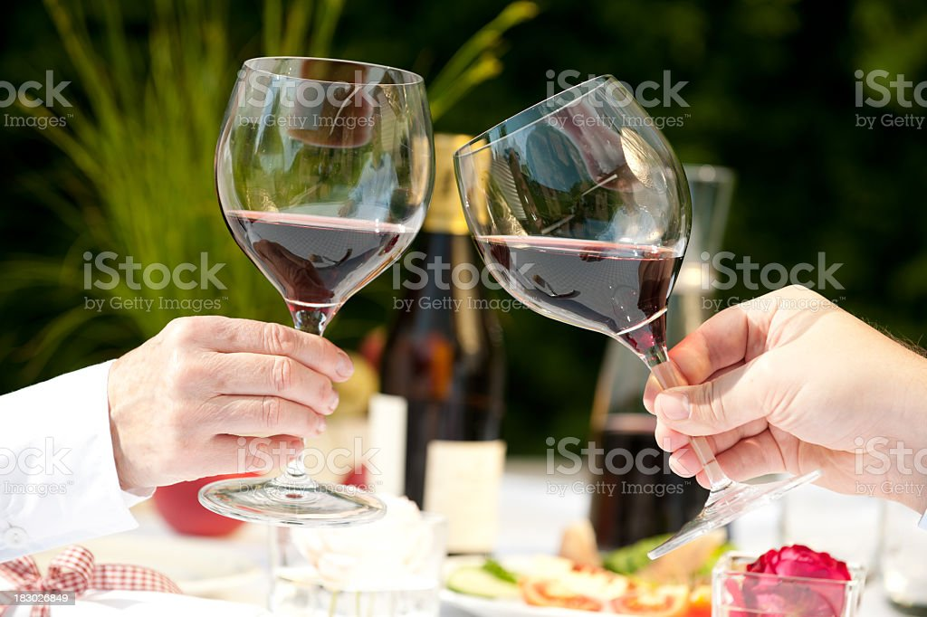 XXXL Wine royalty-free stock photo