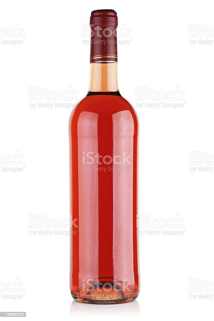 Wine pink. royalty-free stock photo
