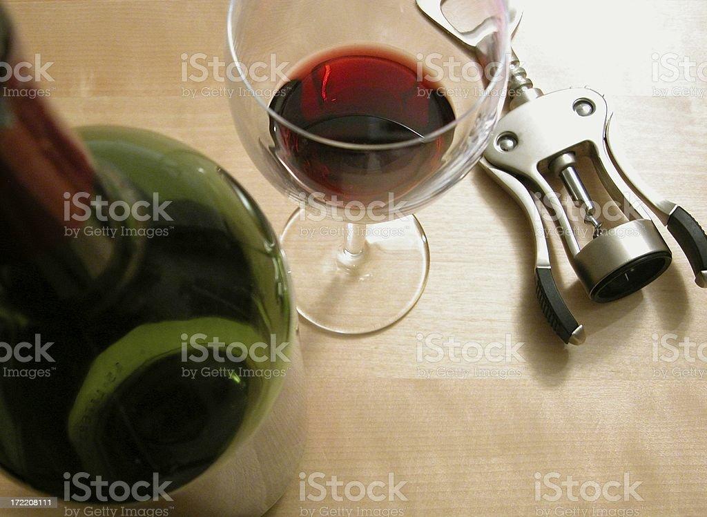wine pouring stock photo