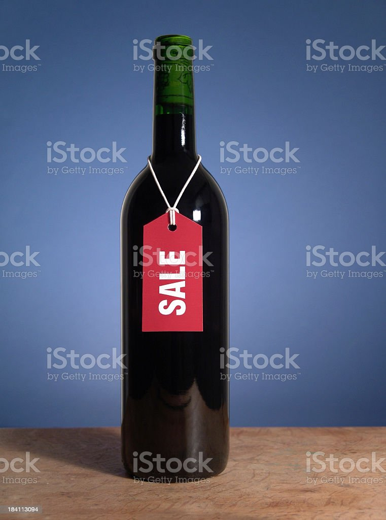 Wine Sale stock photo