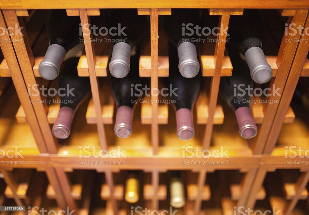 Wine selection stock photo