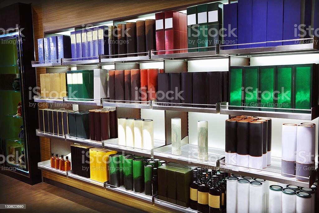 Wine shop royalty-free stock photo