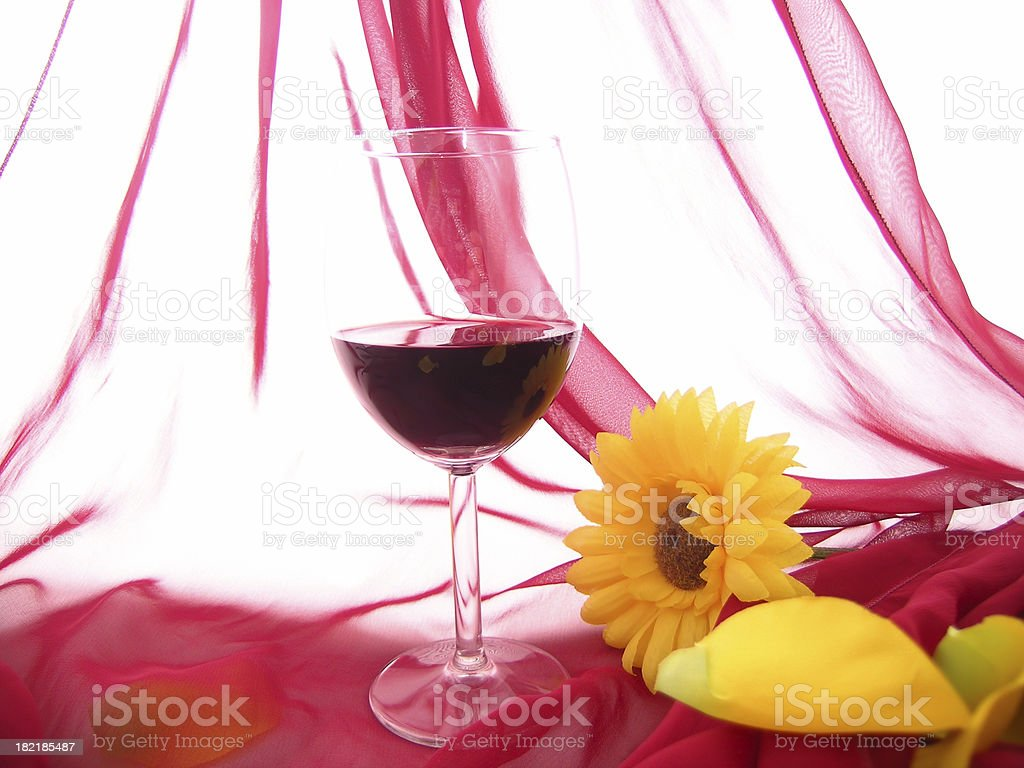 Wine synthesis royalty-free stock photo