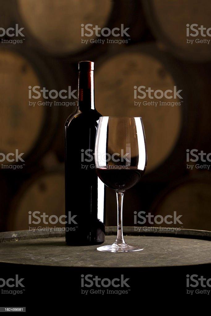 Wine Tasting at the Cellar royalty-free stock photo