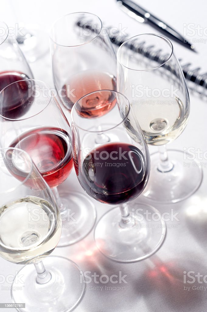 Wine Tasting Event royalty-free stock photo