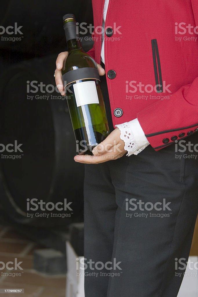 Wine Tasting in Spain stock photo