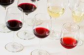Wine tasting on the table