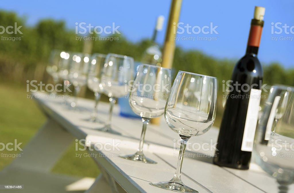Wine Tasting stock photo