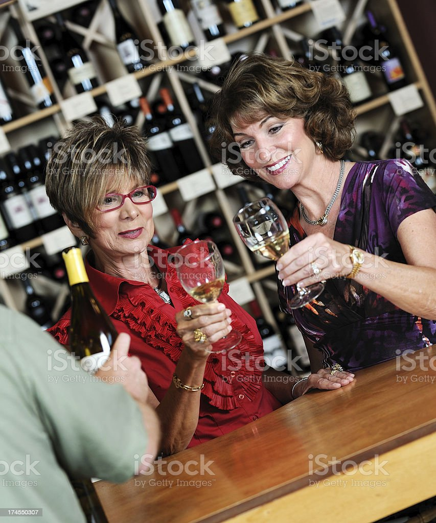 Wine Tasting Series royalty-free stock photo
