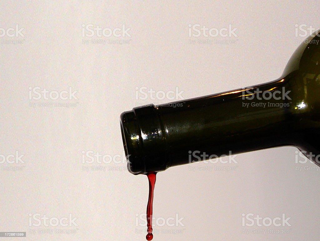 Wine The Last Drop royalty-free stock photo