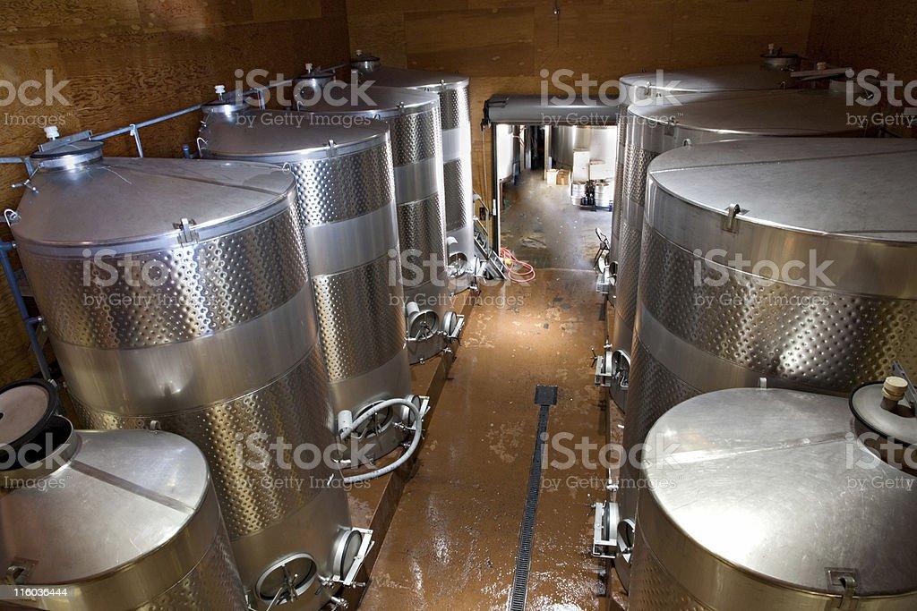 Wine Vats royalty-free stock photo