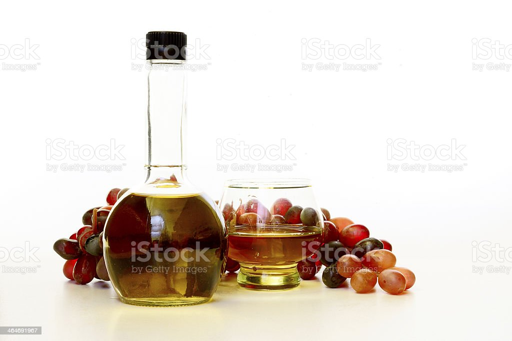 Wine vinegar stock photo