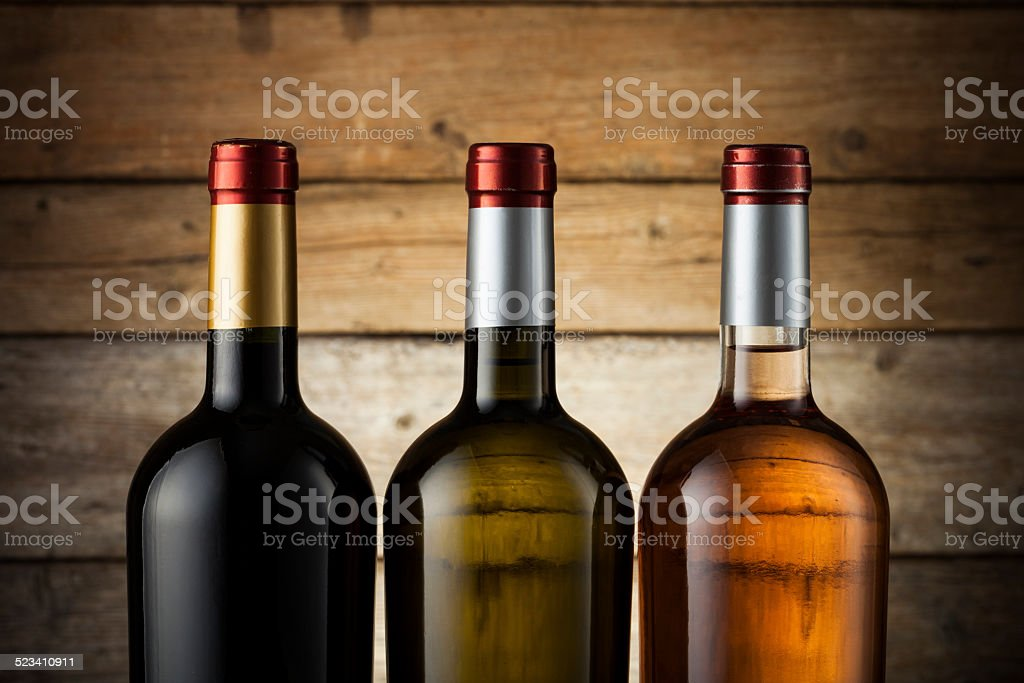 Wine with copy space stock photo