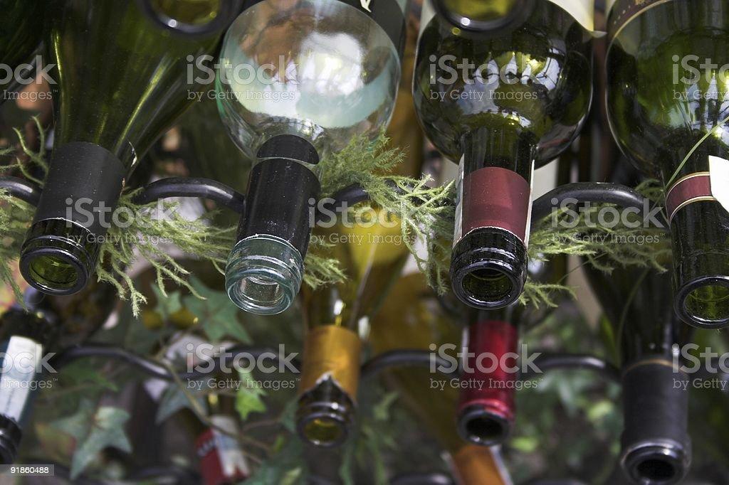 winebottles stock photo