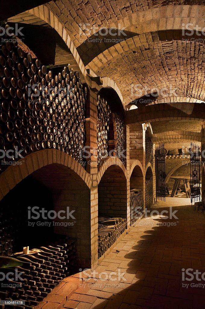 Winecellar royalty-free stock photo