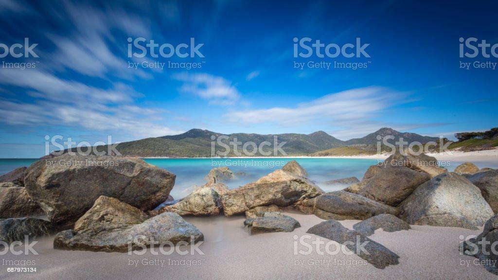 Wineglass Bay stock photo