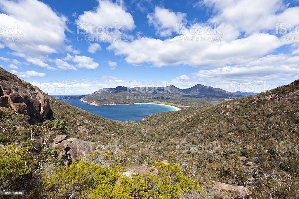 wineglass bay - Tasmania stock photo