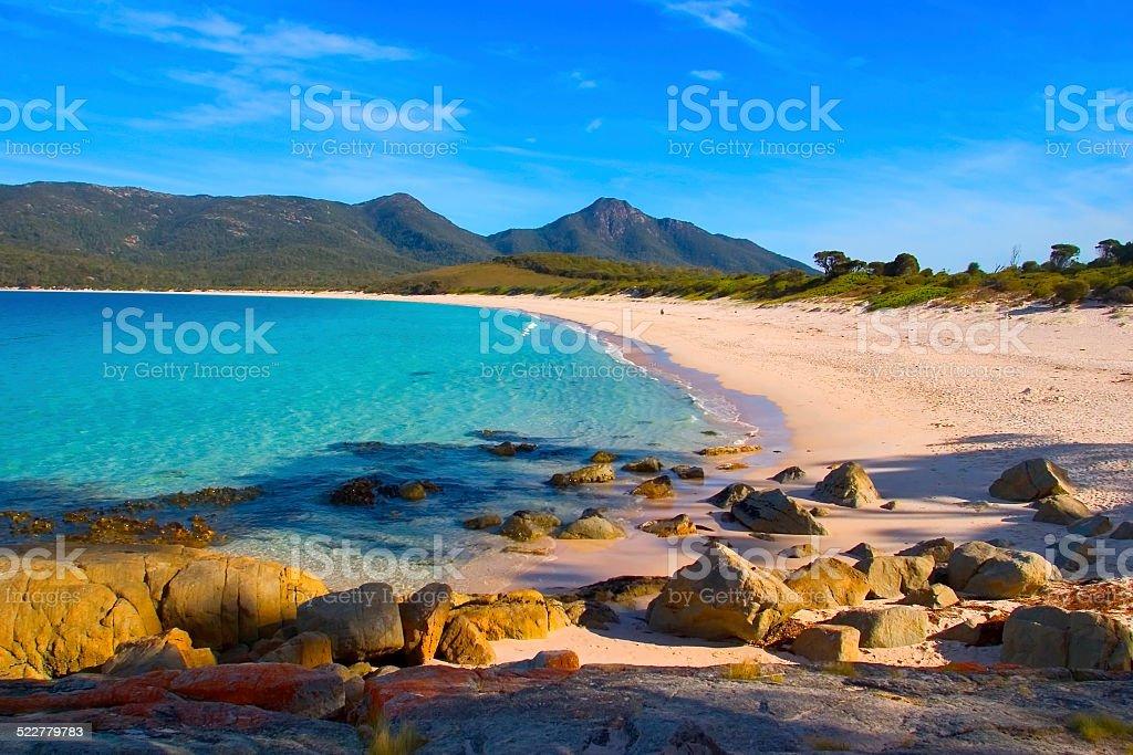Wineglass Bay Tasmania stock photo
