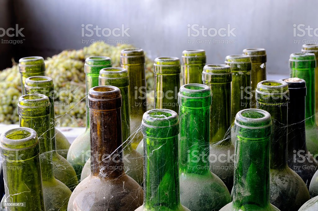 Winery royalty-free stock photo