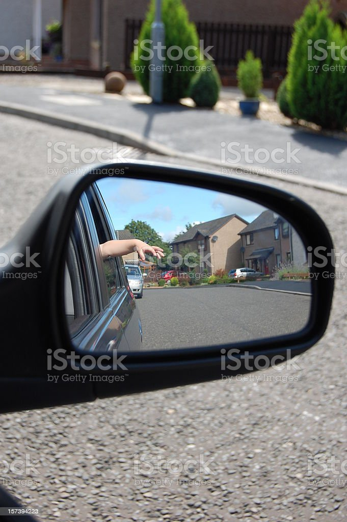 Wing Mirror. royalty-free stock photo