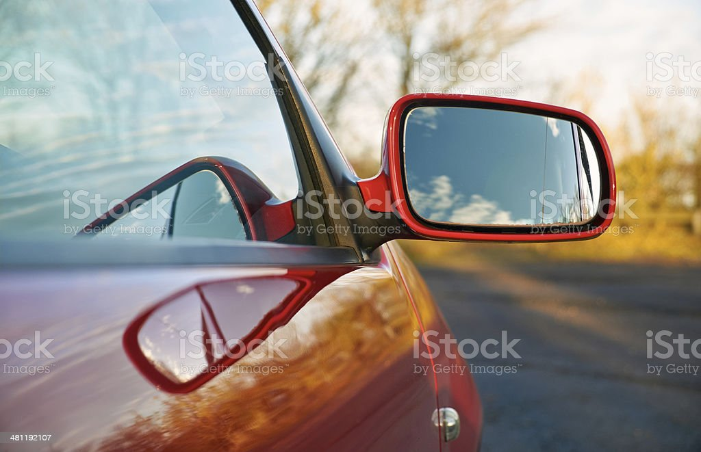 Wing Mirror stock photo