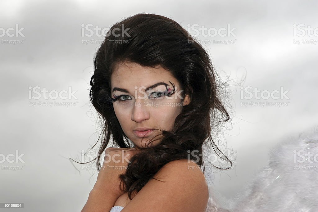 Winged High Fashion royalty-free stock photo