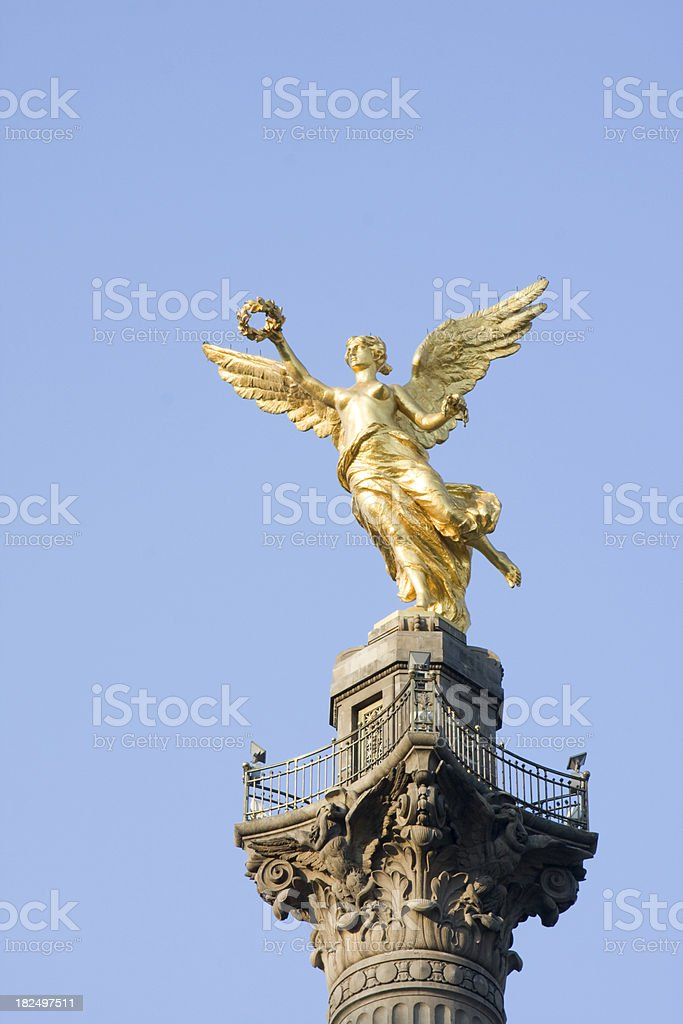 winged victory royalty-free stock photo