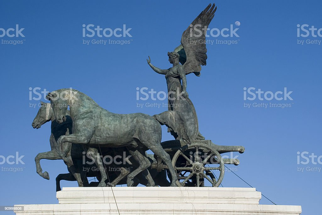 Winged Victory stock photo