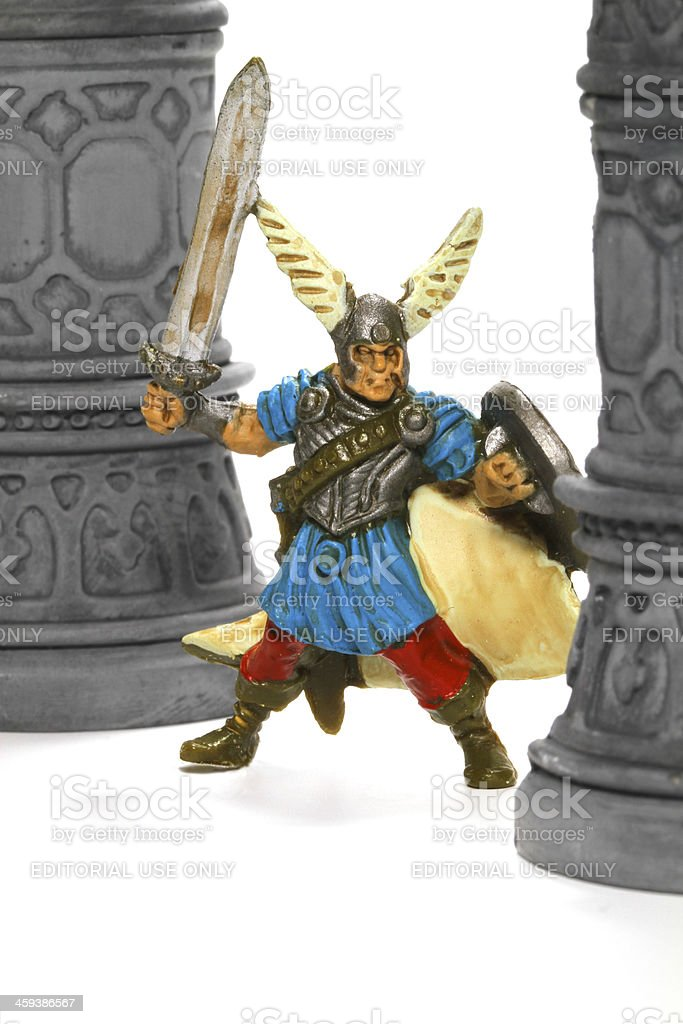 Winged Warrior stock photo