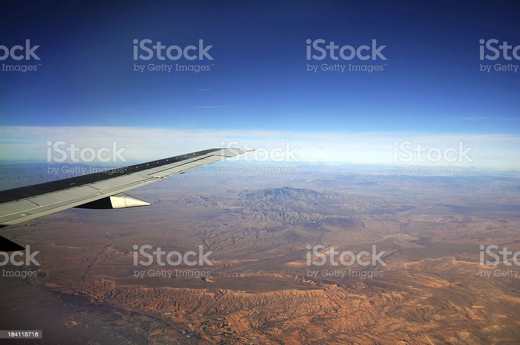 Wings Above royalty-free stock photo