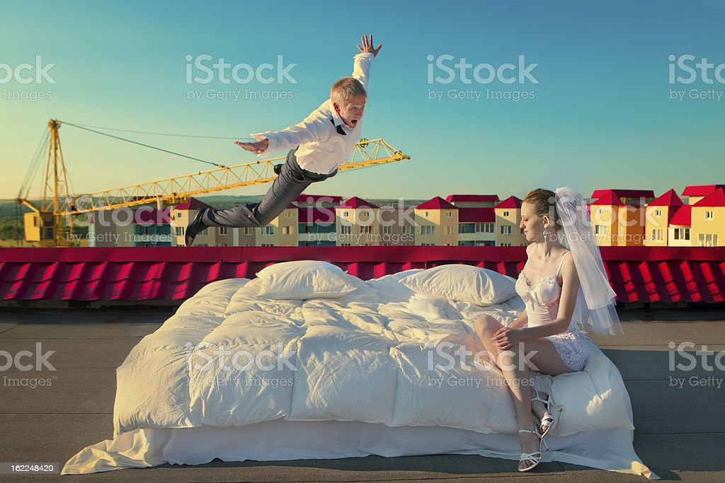 Wings of Happiness royalty-free stock photo