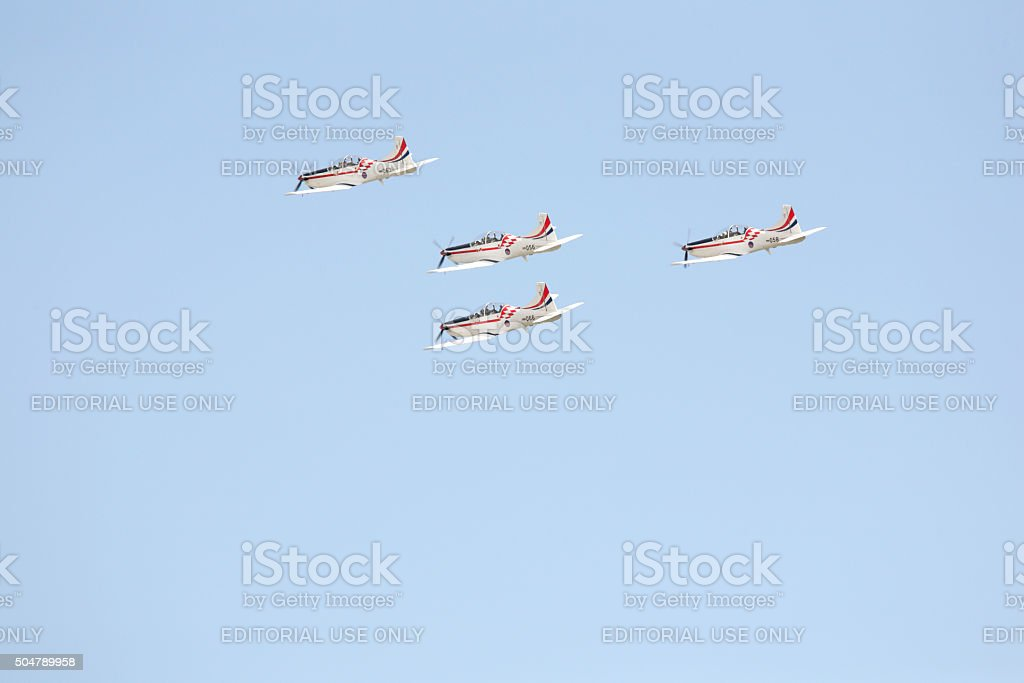 Wings of Storm stock photo