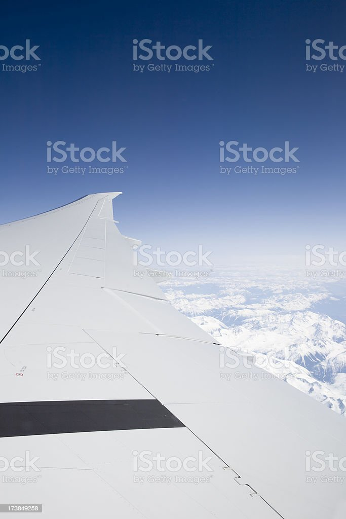 Wings Over the World royalty-free stock photo