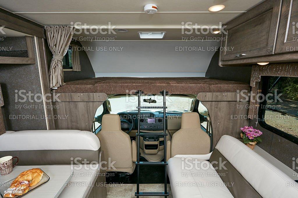 Winnebago Mini Winnie 2017 model front cabin stock photo