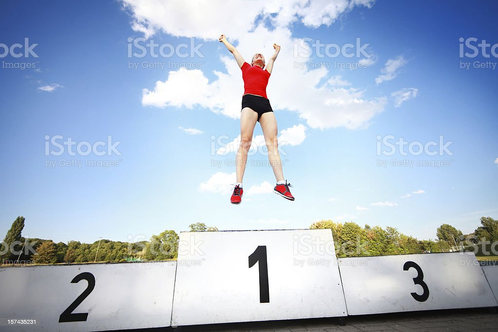 Winner stock photo