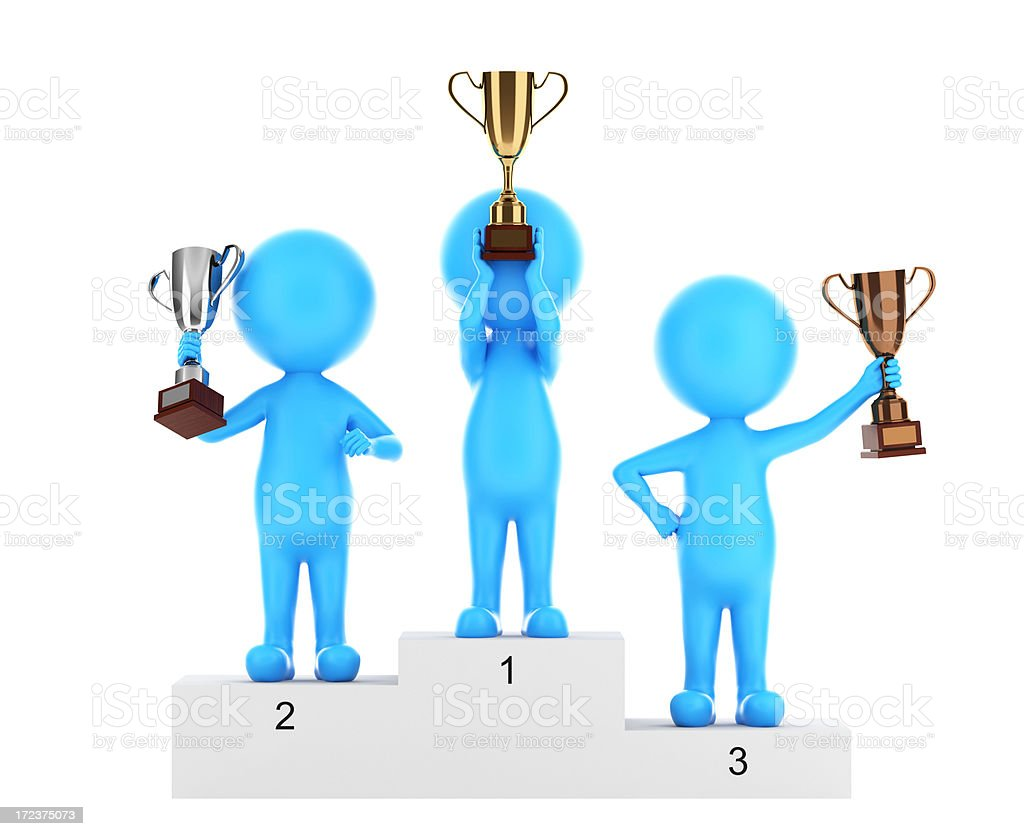 Winner (Success Concept) royalty-free stock photo