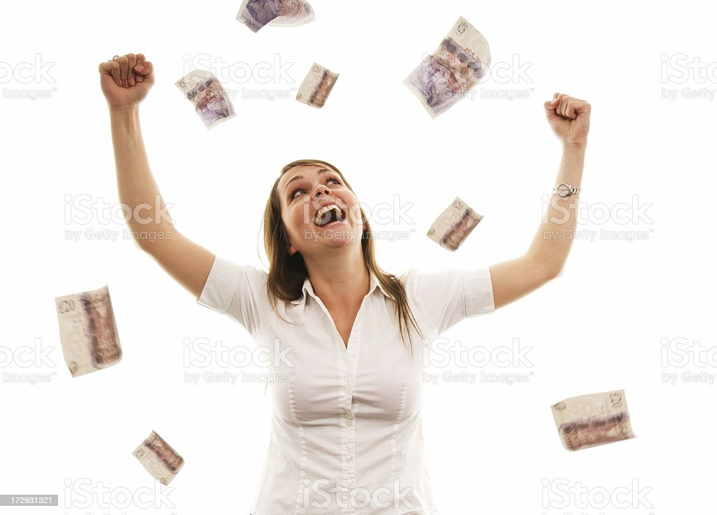 Winner royalty-free stock photo