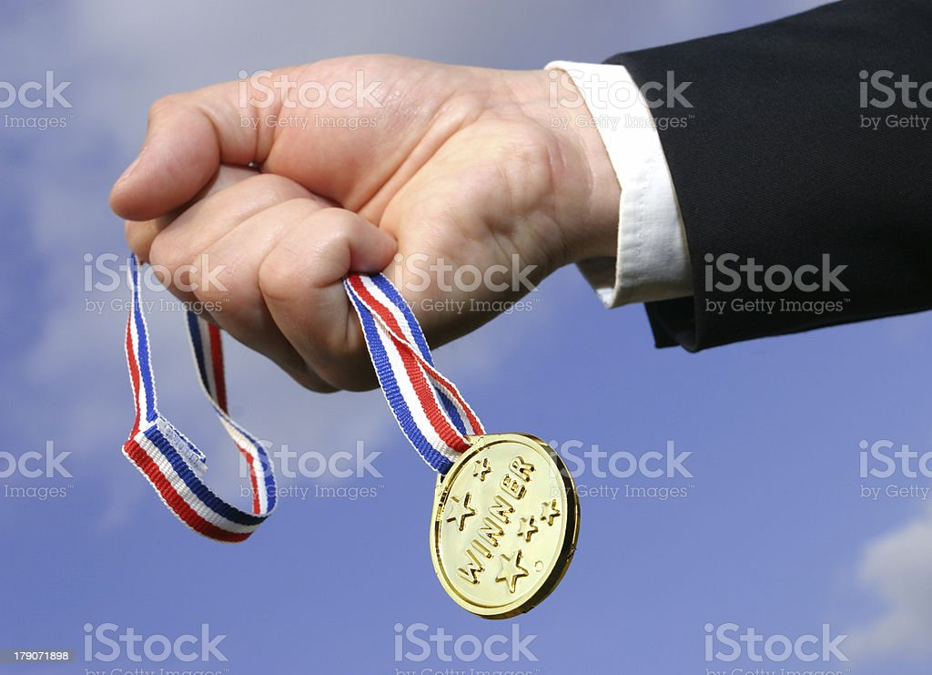 winner royalty-free stock photo