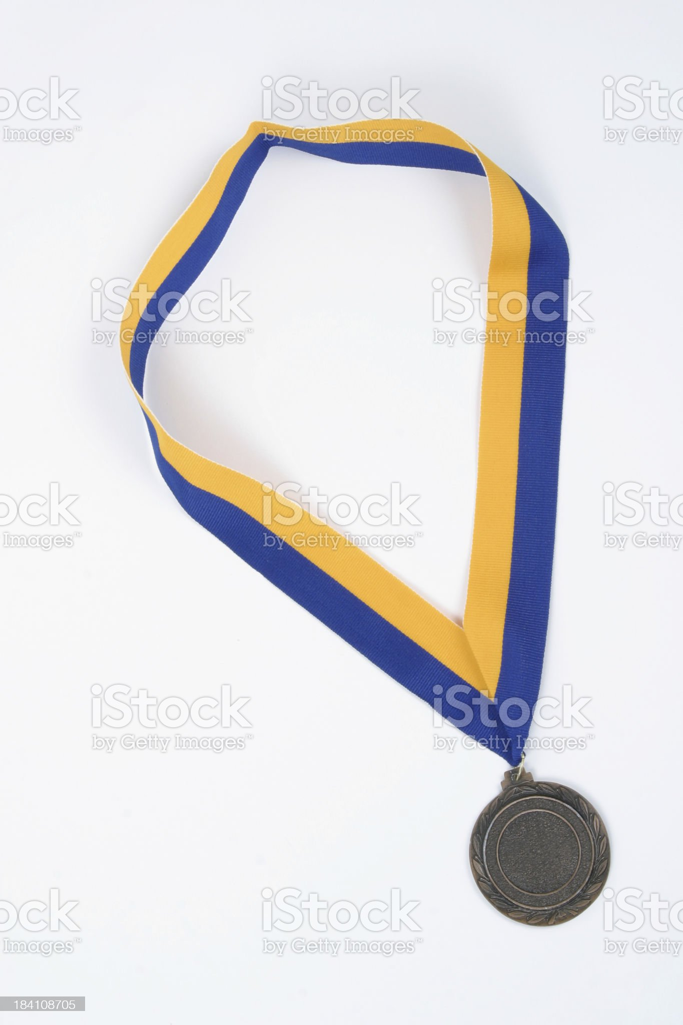 Winners medal royalty-free stock photo