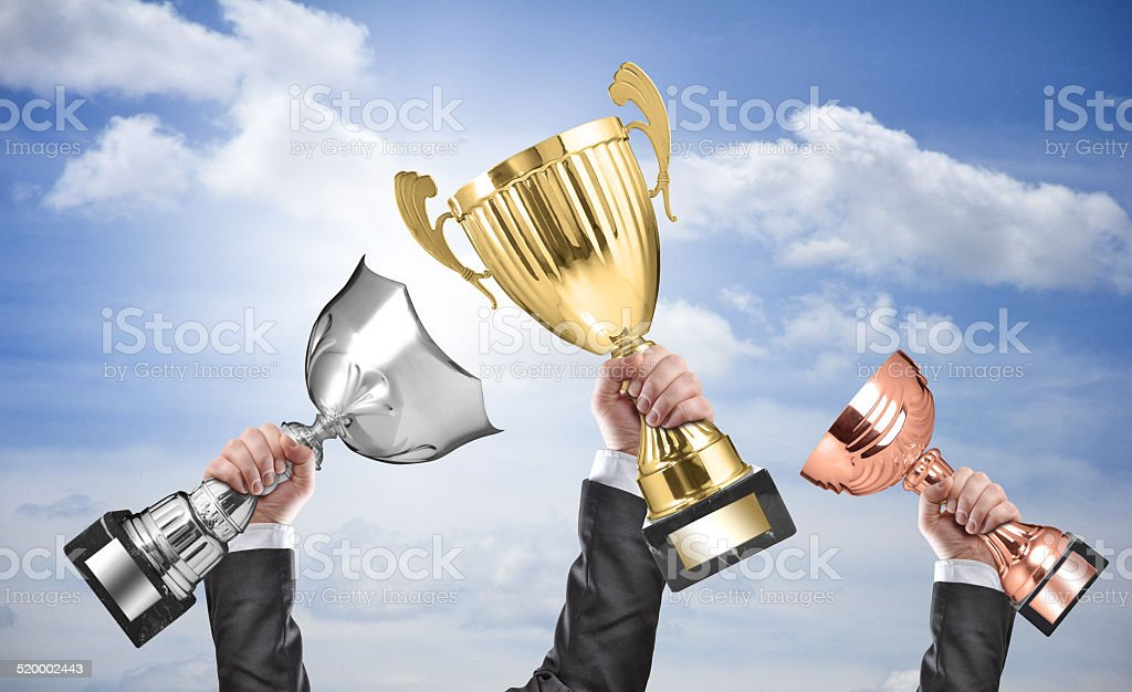 winners stock photo