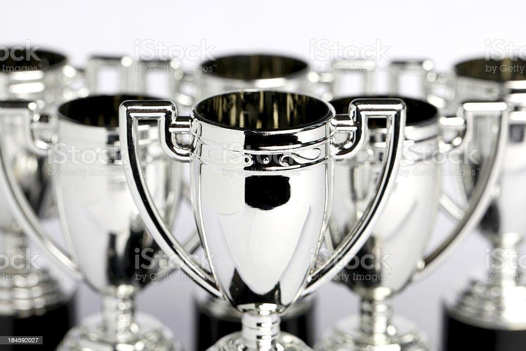 Winners Trophies royalty-free stock photo