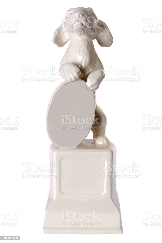 Winners trophy isolated on white royalty-free stock photo