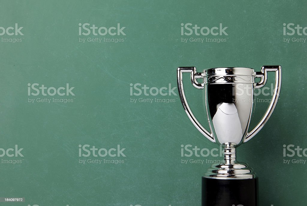 Winners Trophy stock photo